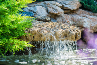 Make A Splash With Water Features